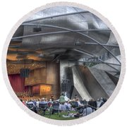 Chicago Symphony Orchestra Round Beach Towel