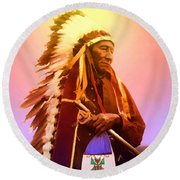Chiefton Round Beach Towel