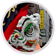 Chinese New Years Nyc  4704 Round Beach Towel