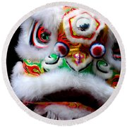 Chinese New Years Nyc 4705 Round Beach Towel