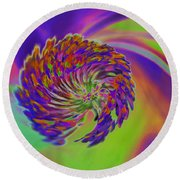 Color Splash Round Beach Towel