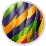 Colors 5 Round Beach Towel