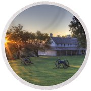 Cravens House Round Beach Towel