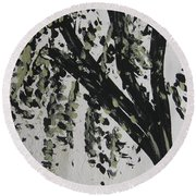 Dance With Me? Round Beach Towel