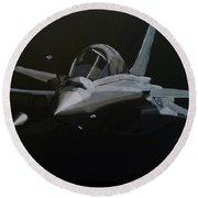Dassault Rafale Round Beach Towel