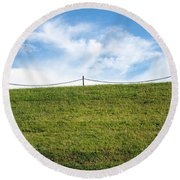 Daydreams- Nature Photograph Round Beach Towel
