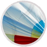 Deflating Round Beach Towel