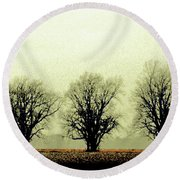 Delta Dust Round Beach Towel
