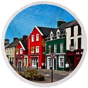 Dingle Bay Color Round Beach Towel