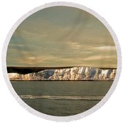 Dover Round Beach Towel by Linsey Williams