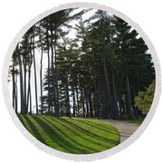 Round Beach Towel featuring the photograph Dramatic by Joseph Yarbrough