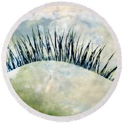 Dreamer Round Beach Towel by Julia Wilcox
