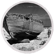 Dungeness Decay Round Beach Towel