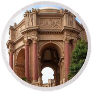 Exploratorium San Francisco Round Beach Towel