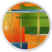 Failing Perspective Limited Edition Round Beach Towel