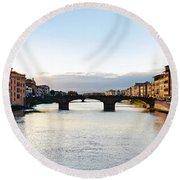 Firenze - Italia Round Beach Towel
