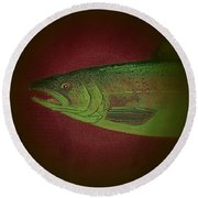Fish 10 Round Beach Towel