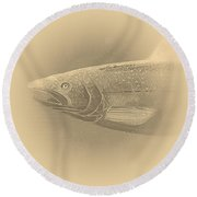 Fish 11 Round Beach Towel
