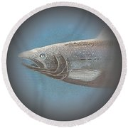 Fish 7 Round Beach Towel