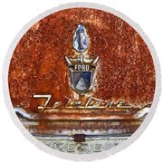 Ford Fairlane Round Beach Towel
