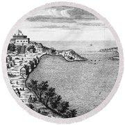 Fort Oswego, 1727 Round Beach Towel