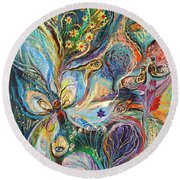 Four Elements Air Part 2 From 4 Round Beach Towel