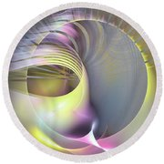 Futura - Abstract Art Round Beach Towel