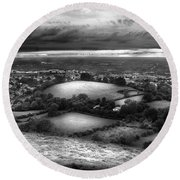 Glastonbury Round Beach Towel