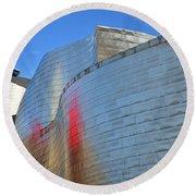 Guggenheim Museum Bilbao - 3 Round Beach Towel