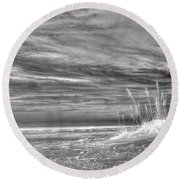 Gulf Breeze Round Beach Towel