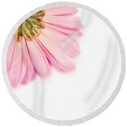 Heavenly Whisper Round Beach Towel