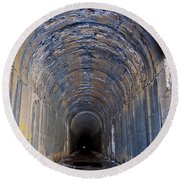 Hidden Tunnel Round Beach Towel