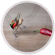 Hot Delivery 01 Round Beach Towel