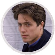 Hugh Grant Round Beach Towel