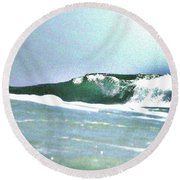 Huntington Wave Round Beach Towel