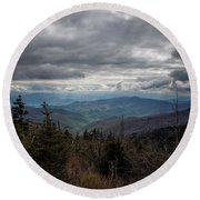 I Can See For Miles Round Beach Towel