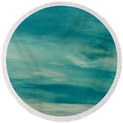 Icelandic Sky Round Beach Towel by Michael Canning