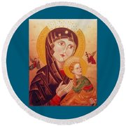 Icon Round Beach Towel