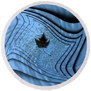 In The Eye Of The Storm 2 Round Beach Towel