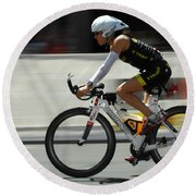Ironman 2012 Flying By Round Beach Towel