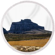 Jailhouse Rock And Courthouse Rock Round Beach Towel