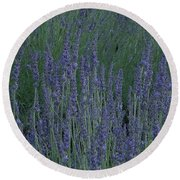 Just Lavender Round Beach Towel