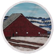 Keystone Farm Round Beach Towel