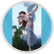 L' Aurore Round Beach Towel by Pg Reproductions