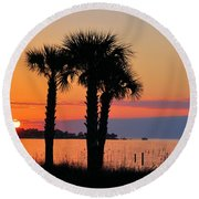 Land Of Heart's Desire Round Beach Towel by Jan Amiss Photography