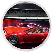 Lexus Lf-lc Round Beach Towel by Randy J Heath