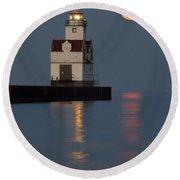 Lighthouse Companion Round Beach Towel