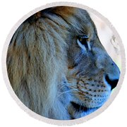 Lion King Round Beach Towel