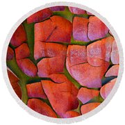Madrone Round Beach Towel