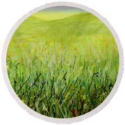Meadow Four Round Beach Towel